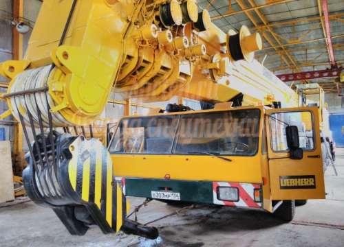 Автокран LIEBHERR 300 тонн
